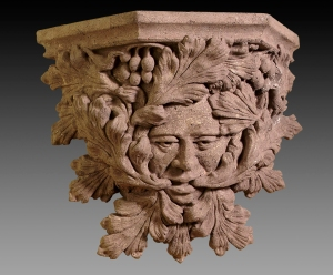 Greenman sconce by Eric Joseph
