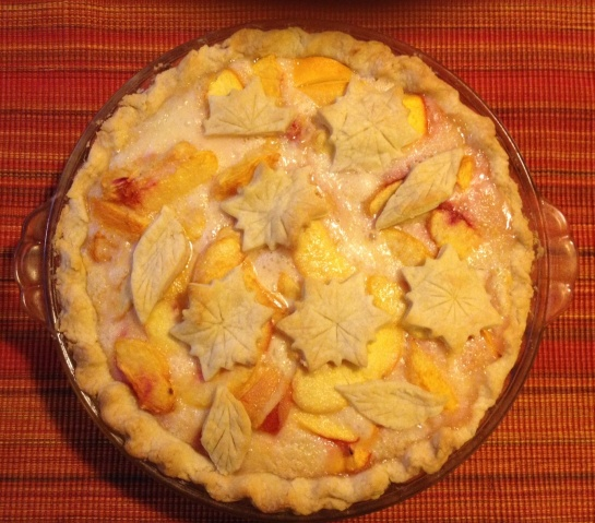 Peaches N Cream Pie